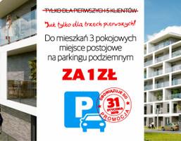 Mieszkanie w inwestycji WYBRZEŻE REYMONTA, Wrocław, 54 m²