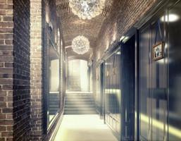 Lokal użytkowy w inwestycji Na Kazamatach, Wrocław, 104 m²