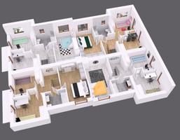 Dom w inwestycji Garden Roof, Suchy Las, 88 m²