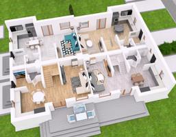 Dom w inwestycji Villa Sucholeska, Suchy Las, 75 m²