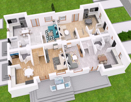 Dom w inwestycji Villa Sucholeska, Suchy Las, 99 m²