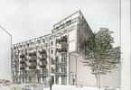Mieszkanie w inwestycji Przy Arsenale, Wrocław, 41 m²