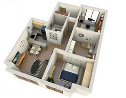 Mieszkanie w inwestycji BIAŁOSTOCKA 51-53, Wrocław, 71 m²