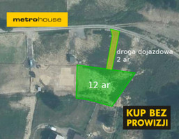 Działka na sprzedaż, Rzeszów, 1208 m²