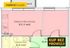 Kawalerka na sprzedaż, Poznań Stare Miasto, 32 m²