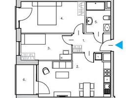 Mieszkanie na sprzedaż, Gdańsk Śródmieście, 57 m²
