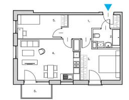 Mieszkanie na sprzedaż, Gdańsk Śródmieście, 58 m²