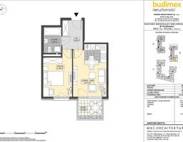 Mieszkanie w inwestycji Osiedle Przy Rolnej III, Poznań, 37 m²