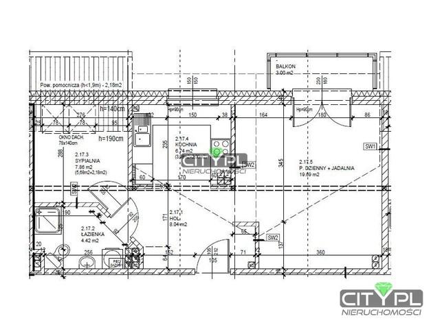 Mieszkanie na sprzedaż, Milanówek, 47 m² | Morizon.pl | 6235