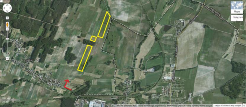 Działka na sprzedaż, Klonów, 91000 m² | Morizon.pl | 2497