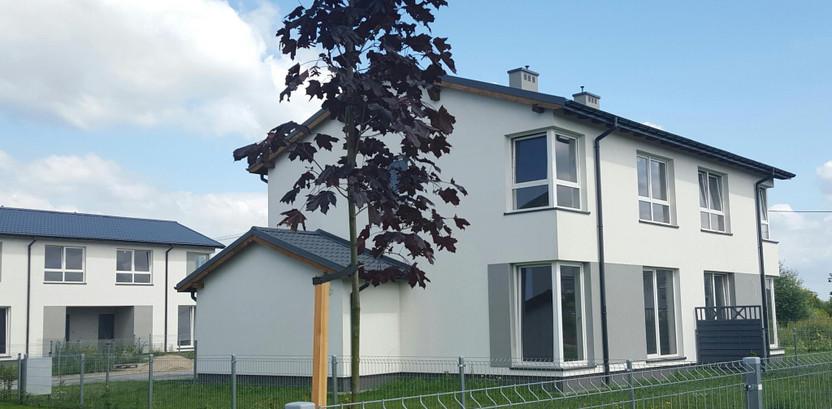 Dom w inwestycji Chabry, Nowa Wola, 92 m² | Morizon.pl | 5265