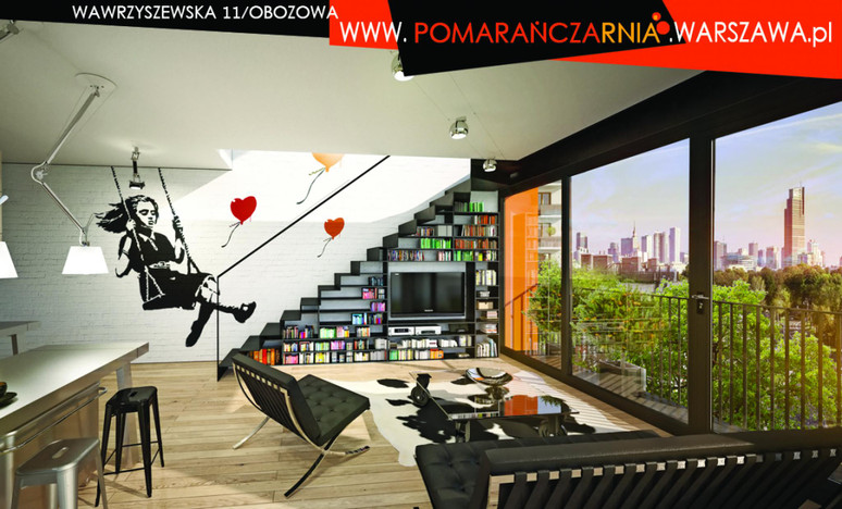 Mieszkanie w inwestycji POMARAŃCZARNIA, Warszawa, 64 m² | Morizon.pl | 9187