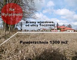 Działka na sprzedaż, Stanisławów Pierwszy Tęczowa, 1300 m²