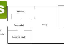 Kawalerka na sprzedaż, Gliwice Sikornik, 28 m²