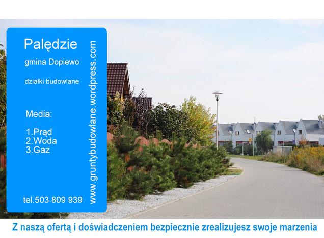 Działka na sprzedaż, Palędzie, 1325 m² | Morizon.pl | 2903