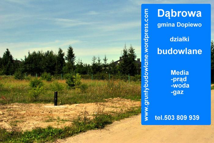 Działka na sprzedaż, Dąbrowa, 1074 m² | Morizon.pl | 3135