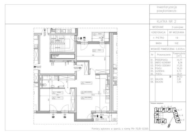 Mieszkanie na sprzedaż, Warszawa Tarchomin, 85 m² | Morizon.pl | 6732
