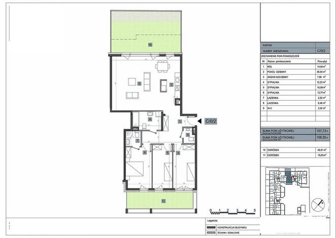 Mieszkanie na sprzedaż, Warszawa Sadyba, 107 m² | Morizon.pl | 5901