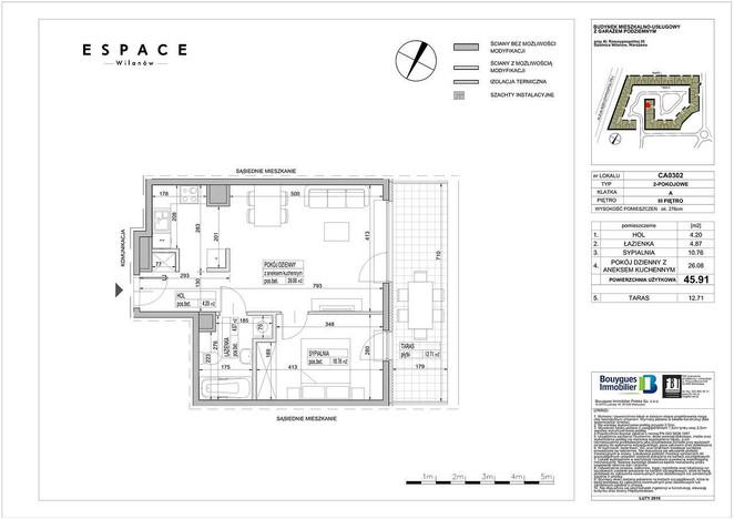 Mieszkanie na sprzedaż, Warszawa Błonia Wilanowskie, 45 m² | Morizon.pl | 9121