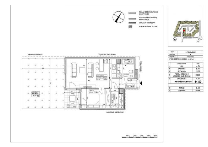 Mieszkanie na sprzedaż, Warszawa Błonia Wilanowskie, 55 m² | Morizon.pl | 2619