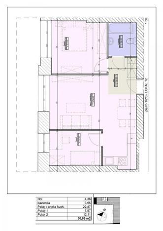 Mieszkanie na sprzedaż, Warszawa Nowa Praga, 50 m² | Morizon.pl | 2136