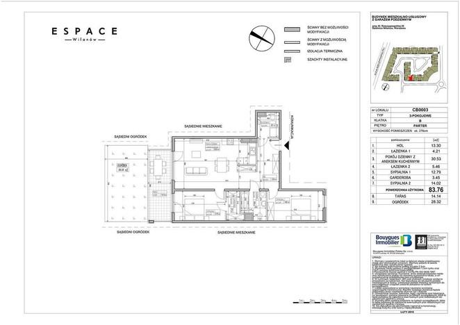 Mieszkanie na sprzedaż, Warszawa Błonia Wilanowskie, 84 m² | Morizon.pl | 9603