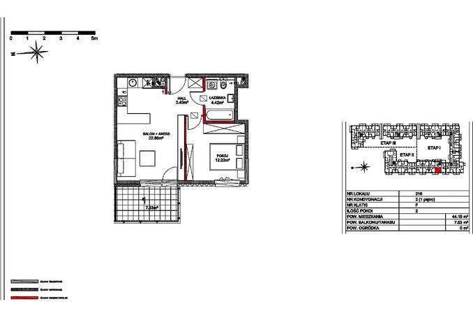 Mieszkanie na sprzedaż, Warszawa Fort Radiowo, 44 m² | Morizon.pl | 7343