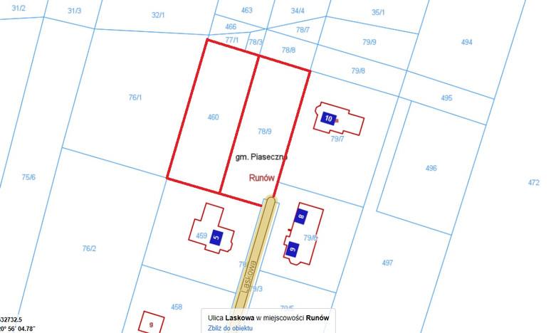 Działka na sprzedaż, Runów Laskowa, 2071 m² | Morizon.pl | 9868