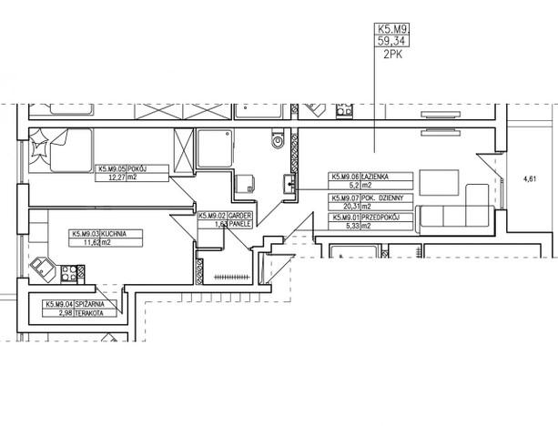 Mieszkanie na sprzedaż, Słubice Wojska Polskiego, 64 m² | Morizon.pl | 2170