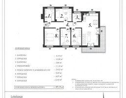 Mieszkanie na sprzedaż, Ciechanów, 87 m²