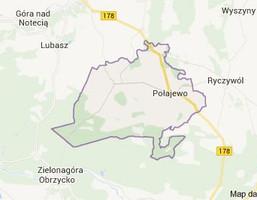 Działka na sprzedaż, Połajewko, 1280 m²