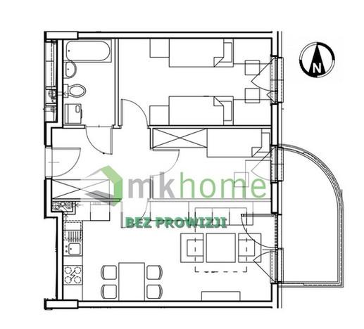 Mieszkanie na sprzedaż, Kraków Os. Prądnik Czerwony, 52 m²   Morizon.pl   4299