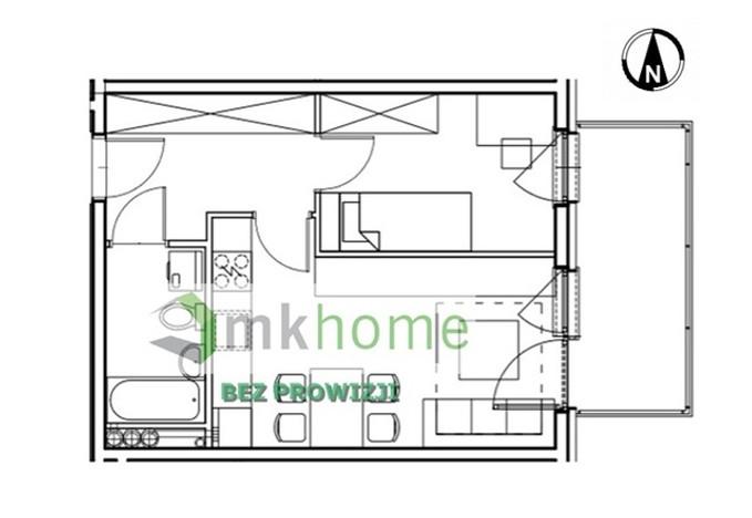 Mieszkanie na sprzedaż, Kraków Os. Prądnik Czerwony, 35 m²   Morizon.pl   5163