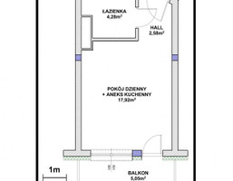 Mieszkanie w inwestycji Osiedle Kolbego, Rzeszów, 25 m²