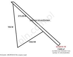 Działka na sprzedaż, Lisna, 11400 m²