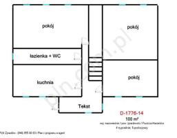 Dom na sprzedaż, Puszcza Mariańska, 100 m²