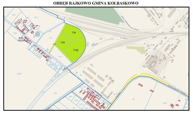 Działka na sprzedaż, Rajkowo, 34715 m² | Morizon.pl | 5245