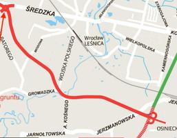 Działka na sprzedaż, Wrocław Leśnica, 5000 m²