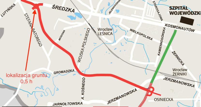 Działka na sprzedaż, Wrocław Leśnica, 5000 m² | Morizon.pl | 0063