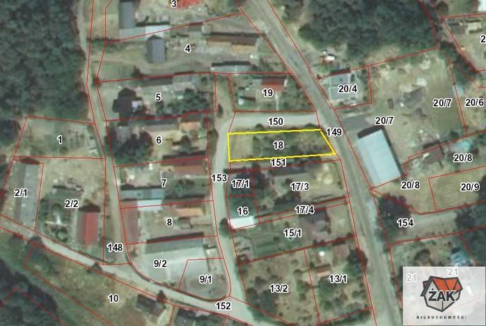 Działka na sprzedaż, Stary Staw, 800 m² | Morizon.pl | 3191