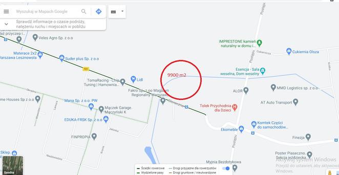Morizon WP ogłoszenia   Działka na sprzedaż, Piaseczno Słoneczna, 9900 m²   5497