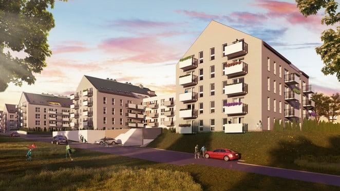Morizon WP ogłoszenia | Mieszkanie w inwestycji Murapol Osiedle Królewskie Tarasy, Wieliczka (gm.), 51 m² | 1105