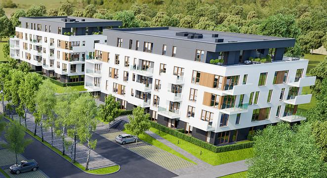 Morizon WP ogłoszenia | Mieszkanie w inwestycji PARK BAŻANTÓW, Katowice, 72 m² | 4057