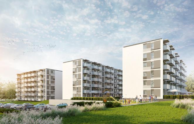 Morizon WP ogłoszenia | Mieszkanie w inwestycji Diamenty Wrotkowa II Etap, Lublin, 62 m² | 7786