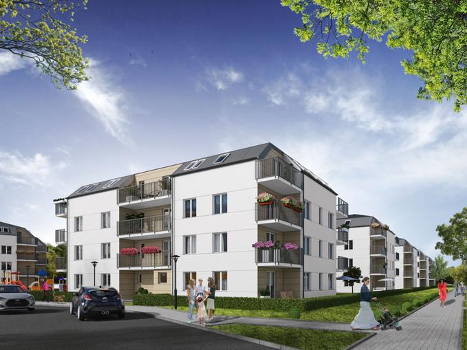 Morizon WP ogłoszenia | Nowa inwestycja - Osiedle Brwinów Platinum Park, Brwinów ul. Grodziska 40, 48-76 m² | 7965