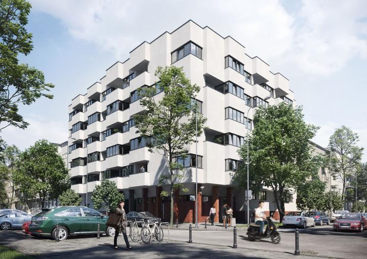 Morizon WP ogłoszenia | Nowa inwestycja - Zagórna 6/8, Warszawa Śródmieście, 57-84 m² | 8481