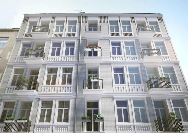 Morizon WP ogłoszenia | Nowa inwestycja - Strzelecka 26, Warszawa Praga-Północ, 28-66 m² | 8487