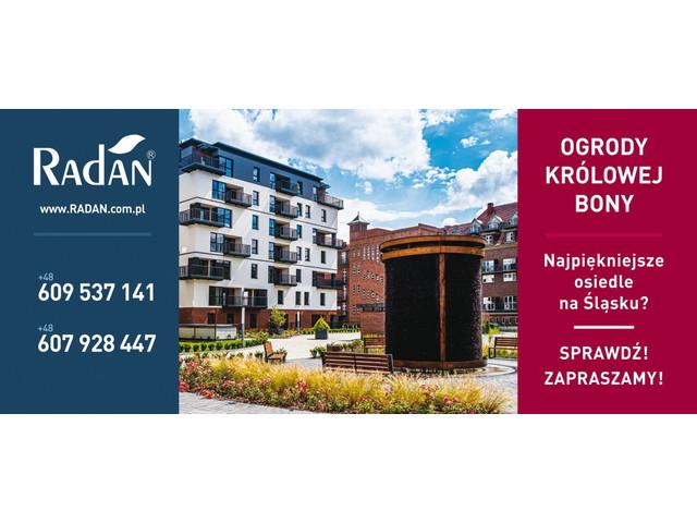 Morizon WP ogłoszenia | Mieszkanie w inwestycji Ogrody Królowej Bony, Gliwice, 63 m² | 1834
