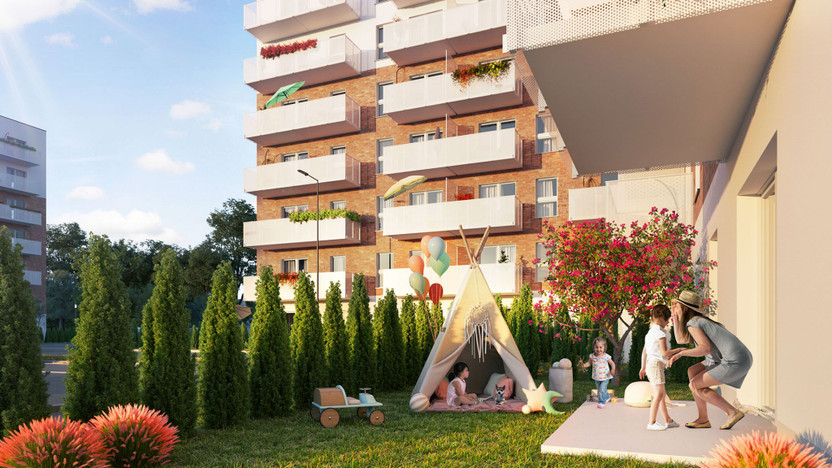 Mieszkanie w inwestycji Murapol Nowa Przędzalnia, Łódź, 27 m² | Morizon.pl | 5713