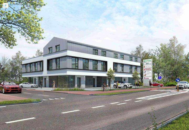 Morizon WP ogłoszenia | Nowa inwestycja - Atrium Office - biura, Lubiczów ul. Warszawska 65, 19-570 m² | 8633